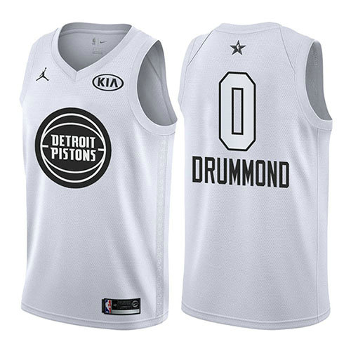 Camiseta Andre Drummond All Star 2018 Hombre Blanco