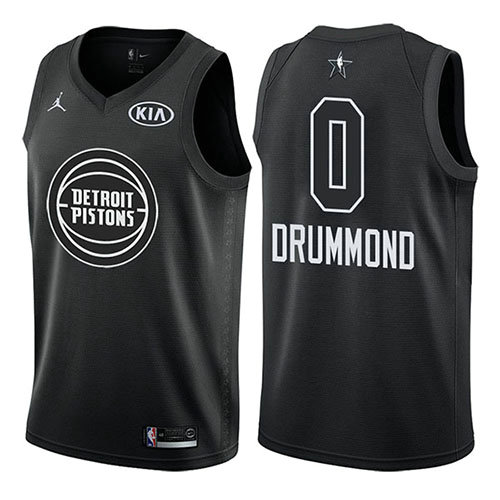 Camiseta Andre Drummond All Star 2018 Hombre Negro
