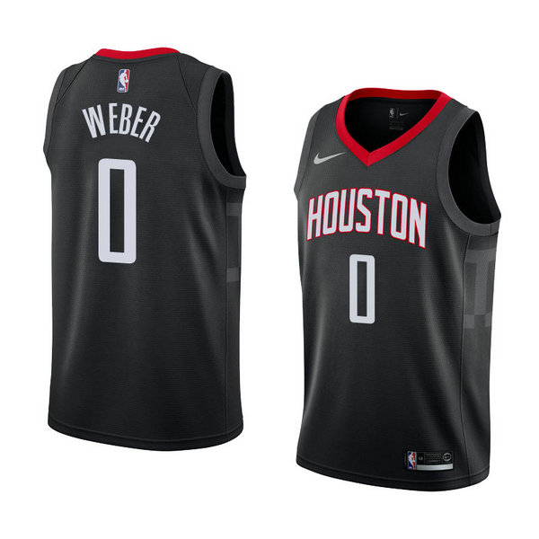 Camiseta Briante Weber Houston Rockets Statement 2018 Hombre Negro