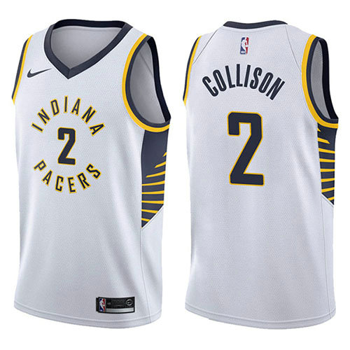 Camiseta Darren Collison Indiana Pacers Association 2017-18 Hombre Blanco