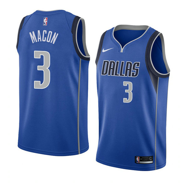 Camiseta Daryl Macon Dallas Mavericks Icon 2018 Hombre Azul