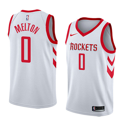 Camiseta De'Anthony Melton Houston Rockets 2017-18 Hombre Blanco