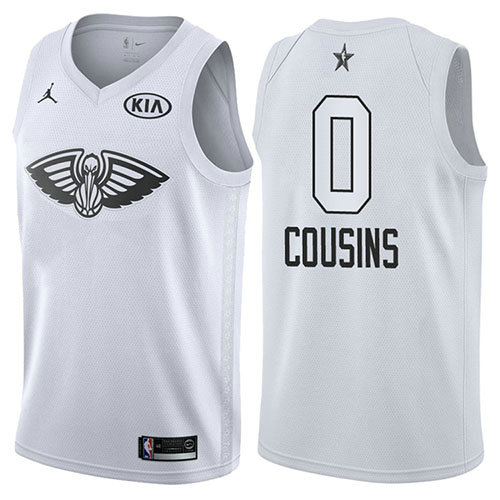 Camiseta Demarcus Cousins All Star 2018 Hombre Blanco