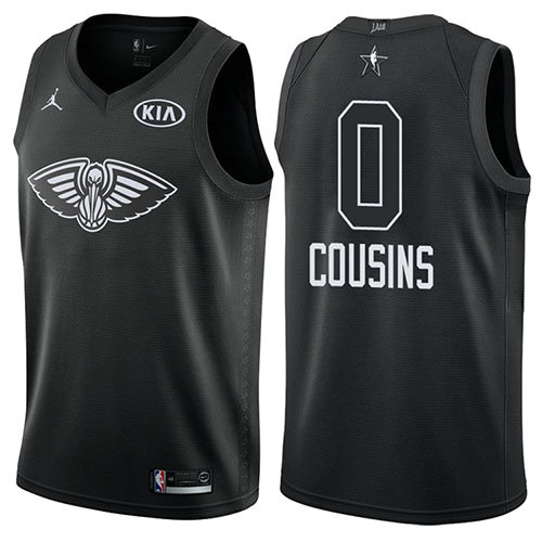 Camiseta Demarcus Cousins All Star 2018 Hombre Negro
