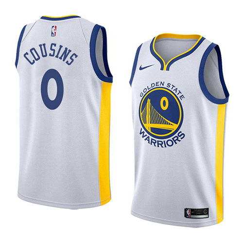Camiseta Demarcus Cousins Golden State Warriors Association 2018-19 Hombre Blanco