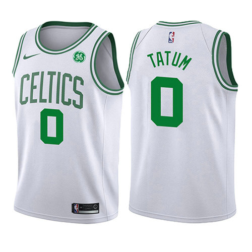 Camiseta Jayson Tatum Boston Celtics Association 2017-18 Nino Blanco