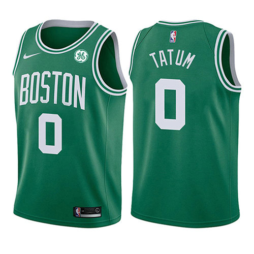 Camiseta Jayson Tatum Boston Celtics Icon 2017-18 Nino Verde