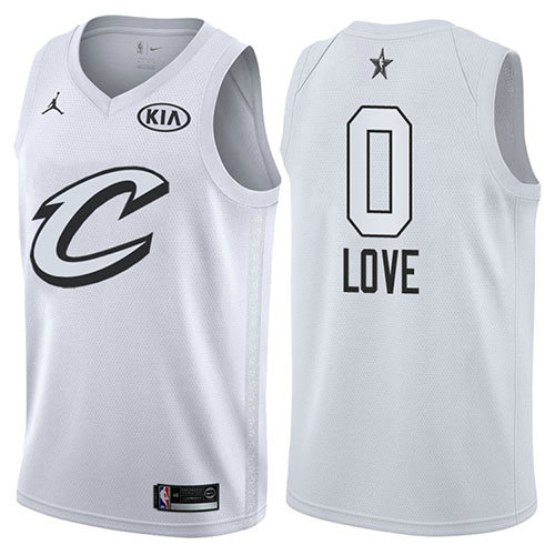 Camiseta Kevin Love All Star 2018 Hombre Blanco