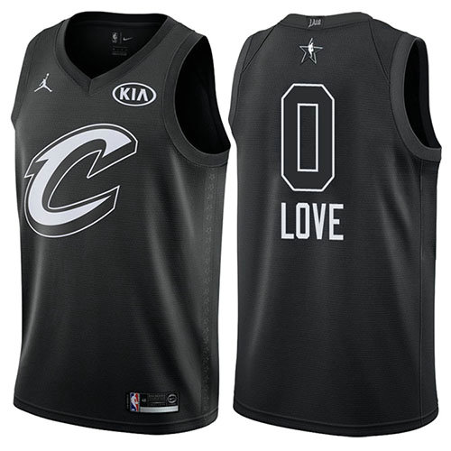 Camiseta Kevin Love All Star 2018 Hombre Negro