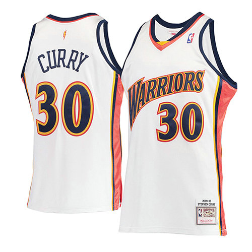 Camiseta Stephen Curry Golden State Warriors Mitchell & Ness Hombre Blanco