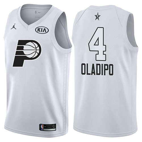 Camiseta Victor Oladipo All Star 2018 Hombre Blanco