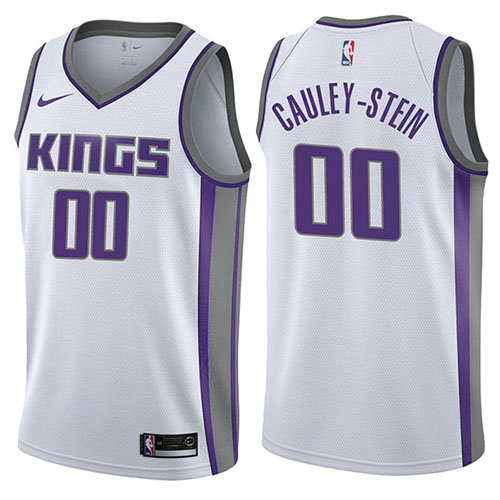Camiseta Willie Cauley-Stein Sacramento Kings Association 2017-18 Hombre Blanco