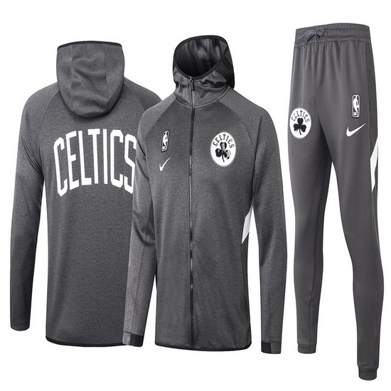 Chandal No Nike Boston Celtics nba Showtime Hombre Gris