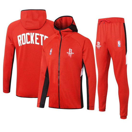 Chandal No Nike Houston Rockets nba Showtime Hombre Rojo