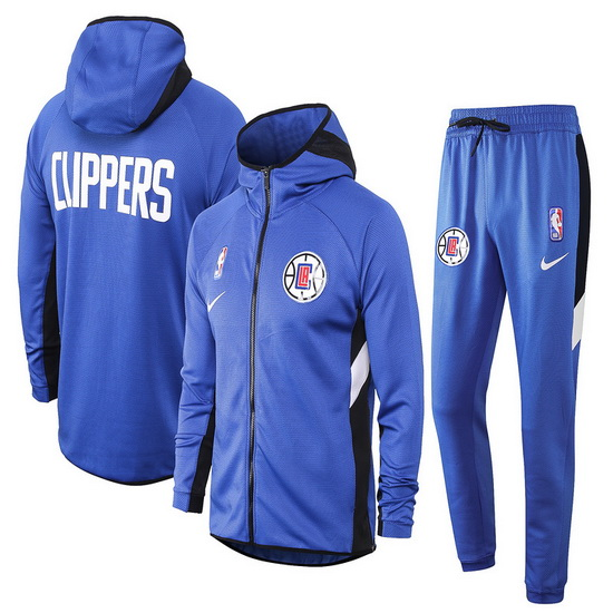 Chandal No Nike Los Angeles Clippers nba Showtime Hombre Azul