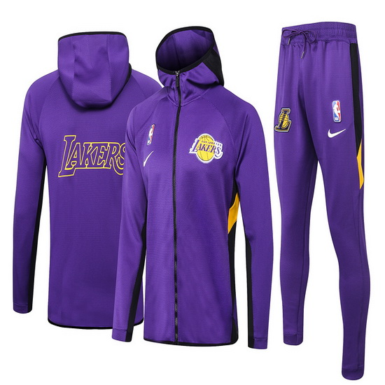 Chandal No Nike Los Angeles Lakers nba Showtime Hombre Morado