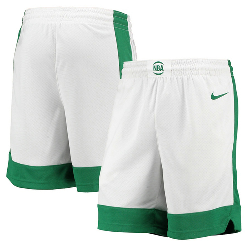 Pantalones Cortos Boston Celtics 2020-21 City Edition Hombre blanco