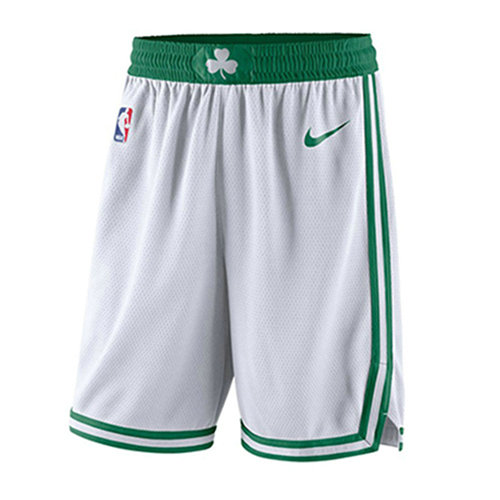 Pantalones Cortos Boston Celtics Association 2017-18 Hombre Blanco