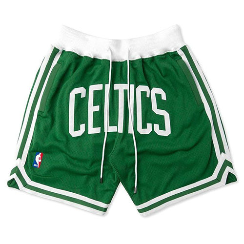 Pantalones Cortos Boston Celtics Just don Hombre Verde